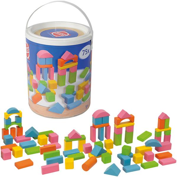 heros-heros-eimer-mit-75-holzbausteinen-happy-colours-kinderspielzeug-