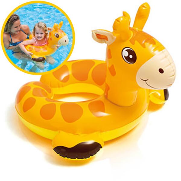 Intex wasserspielring giraffe bei spielzeug