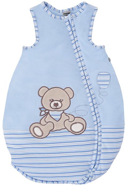 jacky sommerschlafsack teddy gr 62 68 hellblau ringel weyhe bei bremen. Black Bedroom Furniture Sets. Home Design Ideas