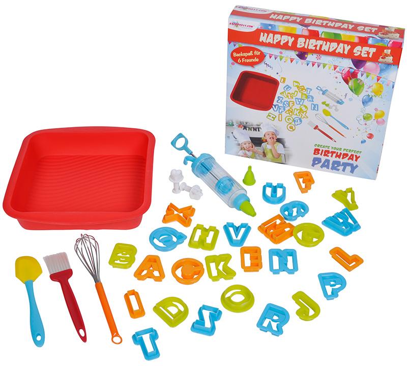 knorrtoys-backset-happy-birthday-35-teilig-kinderspielzeug-