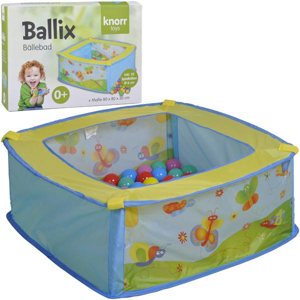 knorrtoys-spielzelt-ballebad-ballix-mit-25-ballen-kinderspielzeug-