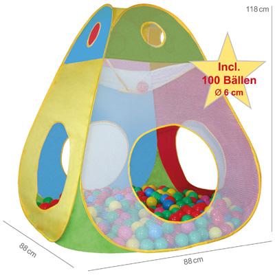 knorrtoys spielzelt b llebad brody mit 100 b llen bei spielzeug24. Black Bedroom Furniture Sets. Home Design Ideas