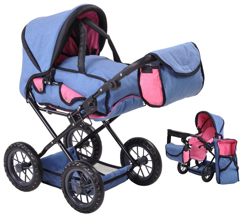 knorrtoys-puppenwagen-ruby-jeans-blau-kinderspielzeug-