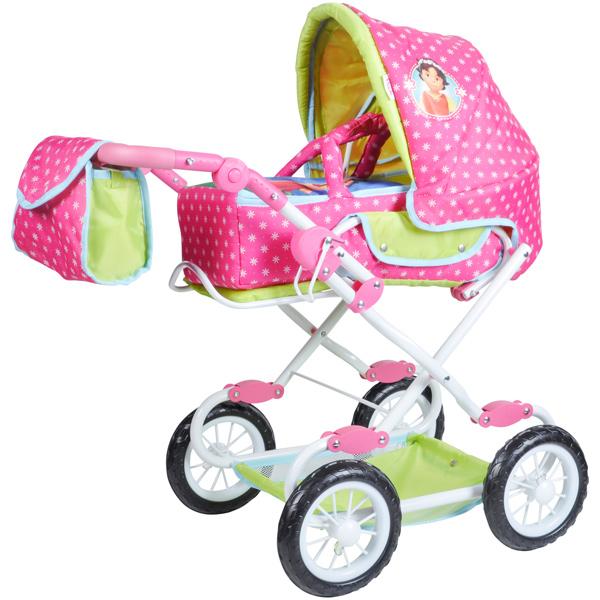knorrtoys-puppenwagen-salsa-heidi-pink-grun-kinderspielzeug-