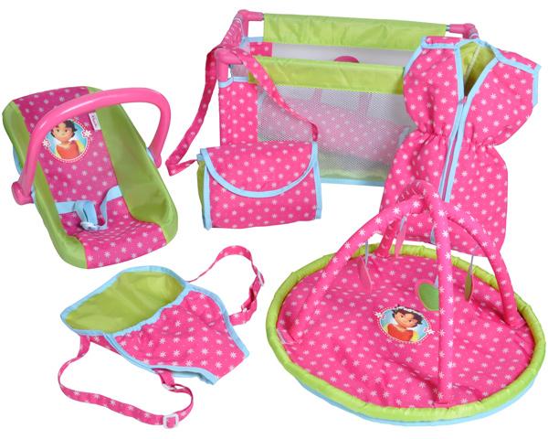 knorrtoys-heidi-9-teiliges-puppenzubehor-set-pink-grun-kinderspielzeug-