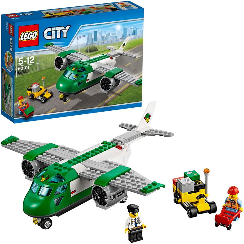Lego City Flughafen Frachtflugzeug 60101 Bei Spielzeug24