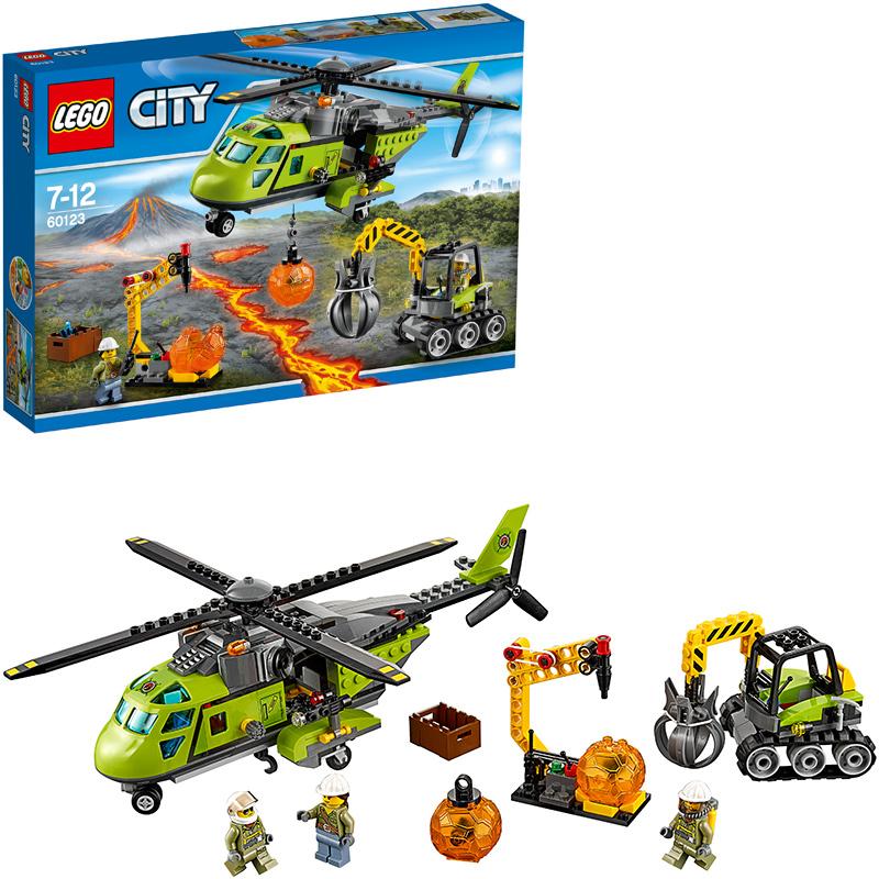 LEGO (R) City Vulkan-Versorgungshelikopter 6012...