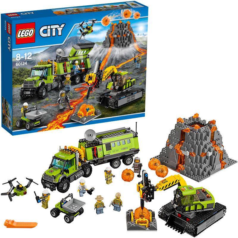 LEGO (R) City Vulkan-Forscherstation 60124 [Kin...