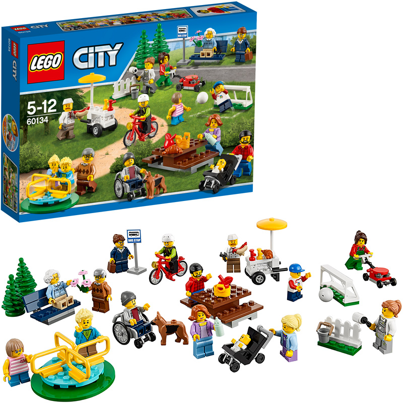 LEGO (R) City Stadtbewohner 60134 [Kinderspielz...