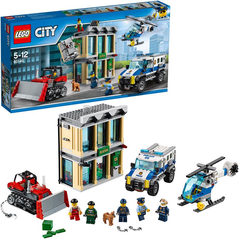 LEGO (R) City Bankraub mit Planierraupe 60140 [...