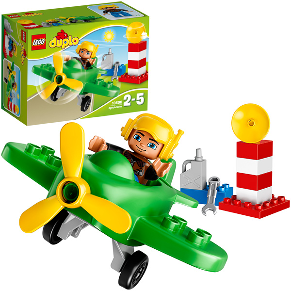 LEGO (R) Duplo Kleines Flugzeug 10808 [Kinderspielzeug]