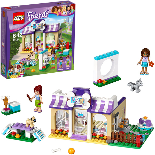 LEGO (R) Friends Welpen-Betreuung 41124 [Kinder...