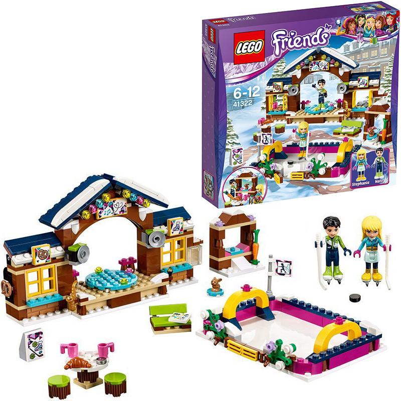 Lego Friends Eislaufplatz Im Wintersportort 41322 Bei Nunonde