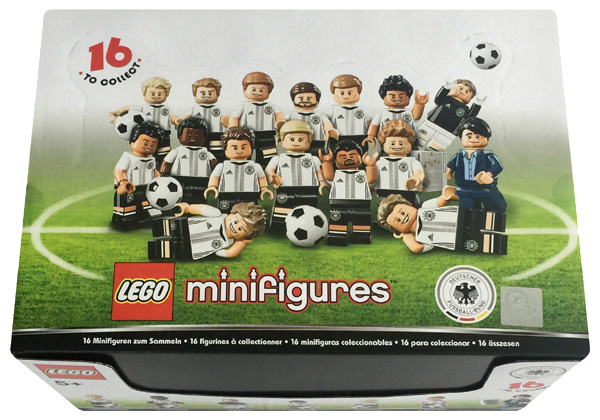 LEGO (R) 60 Minifiguren 71014 EM Special 2016 in Tüten im Display [Kinderspielzeug]