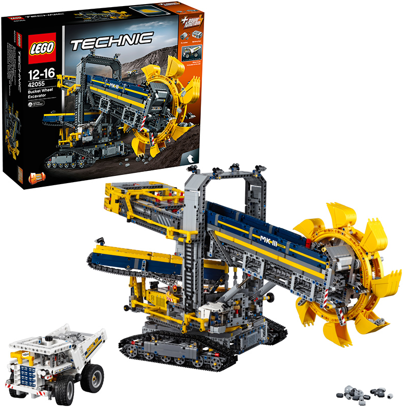 LEGO (R) Technic Schaufelradbagger 42055 [Kinde...
