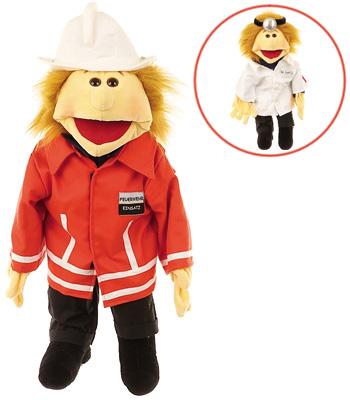Matthies Living Puppets Große Handpuppe Ricky R...