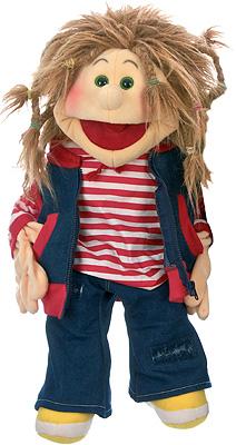 Living Puppets Große Handpuppe Ronja 65 cm [Kinderspielzeug]