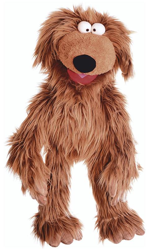 matthies living puppets gro e handpuppe hund wiwaldi 66 cm bei. Black Bedroom Furniture Sets. Home Design Ideas