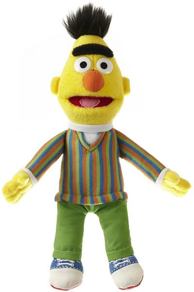 Sesamstrasse Plüschfigur Bert 23 cm (Gelb) [Kinderspielzeug]