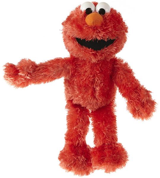 Sesamstrasse Kleine Plüschfigur Elmo 22 cm (Rot) [Kinderspielzeug]