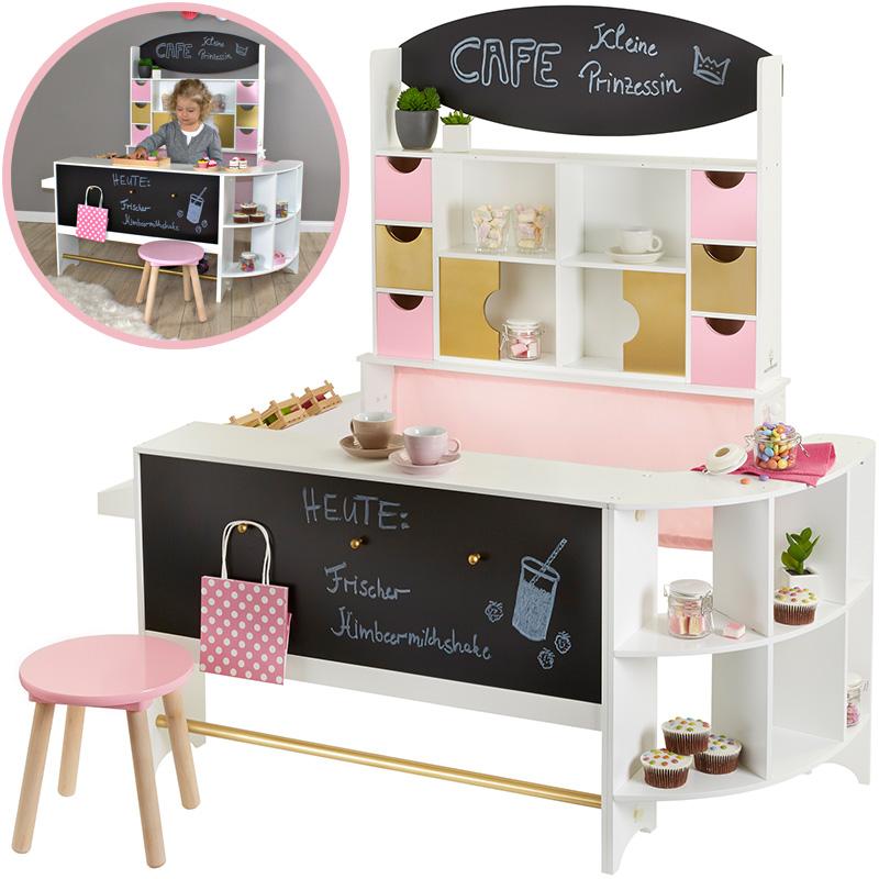 Superb Musterkind Kaufladen U0026 Cafe Arabica (Weiß Rosa Gold) [Kinderspielzeug]