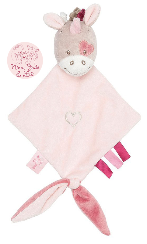 nattou-nina-jade-lili-schmusetuch-mit-schnullerhalter-einhorn-taupe-rose-babyspielzeug-