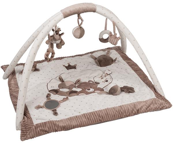 nattou-max-noa-tom-krabbeldecke-mit-spielbogen-wei-braun-babyspielzeug-