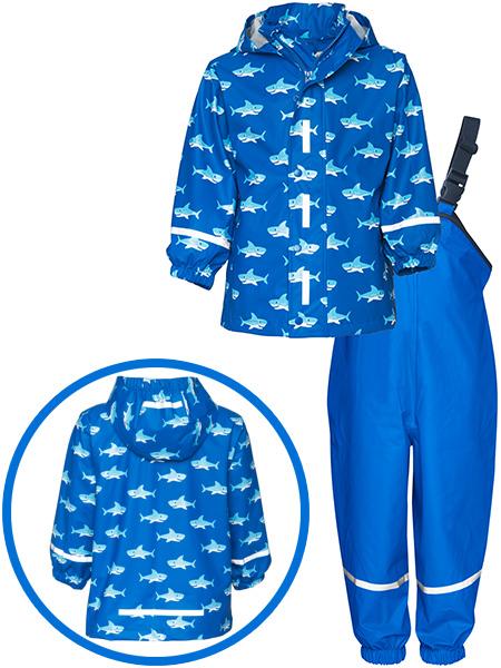 playshoes-regen-set-hai-gr-92-blau-babykleidung-