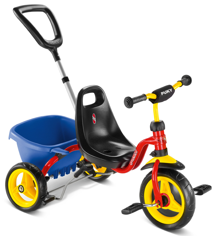 Puky Dreirad CAT 1S (Rot) [Kinderspielzeug]
