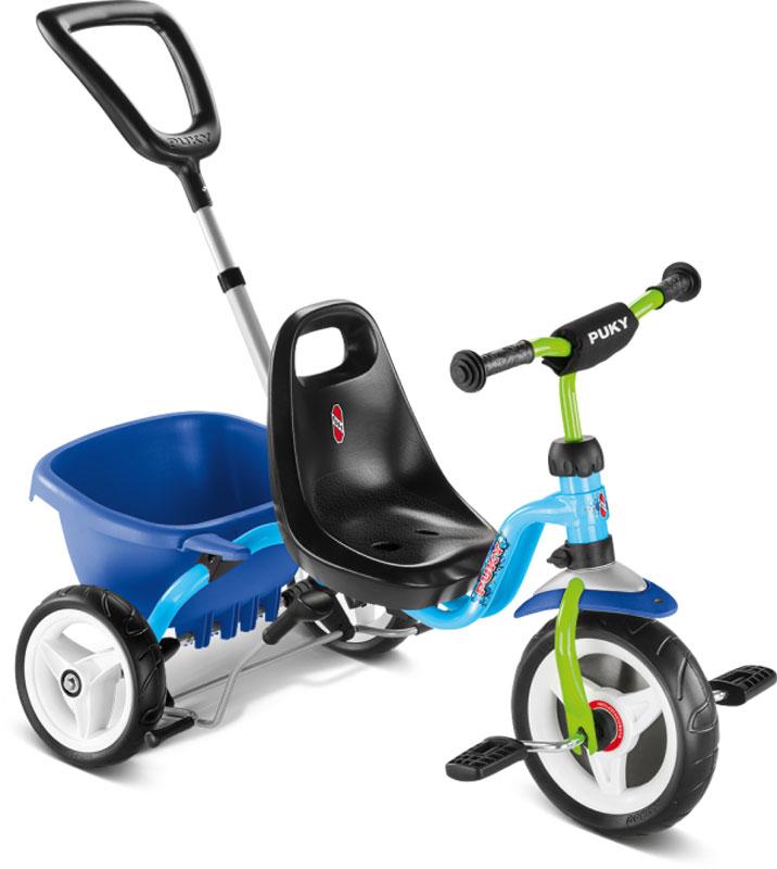 Puky Dreirad CAT 1S (Blau Kiwi) [Kinderspielzeug]