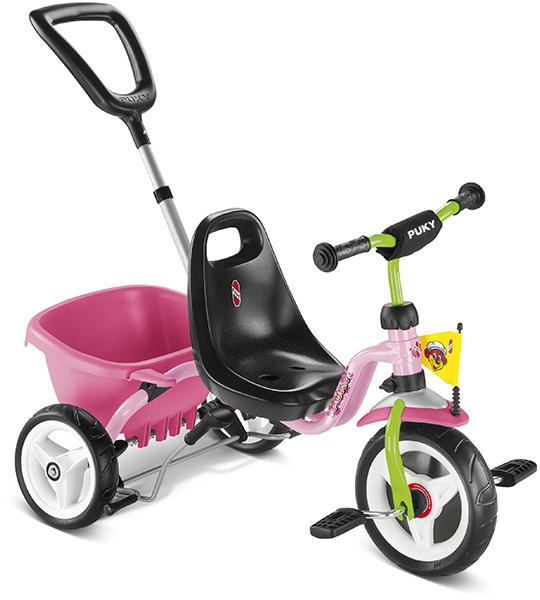 Puky Dreirad CAT 1S (Rose Kiwi) [Kinderspielzeug]