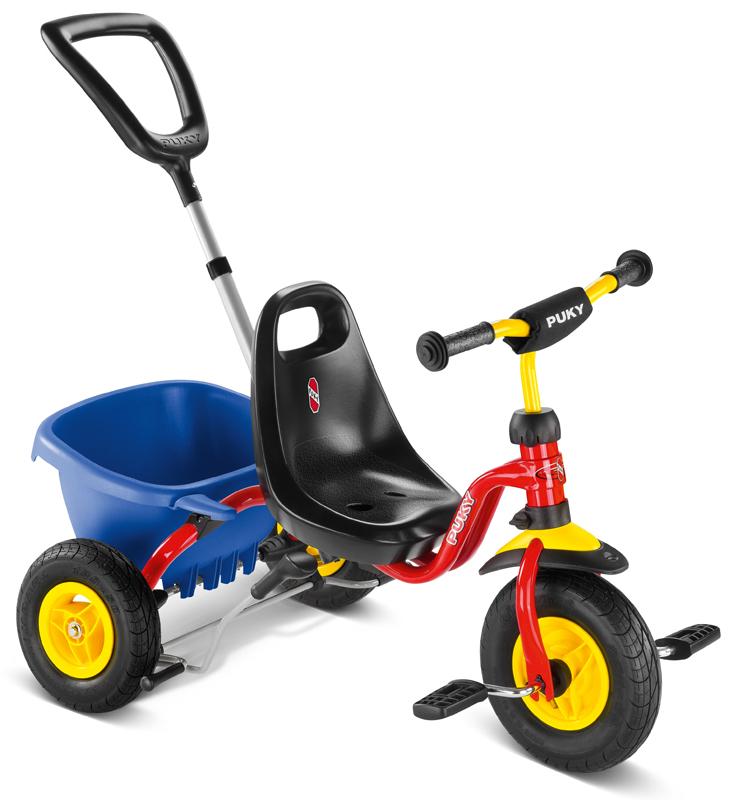 Puky Dreirad CAT 1L (Rot) [Kinderspielzeug]