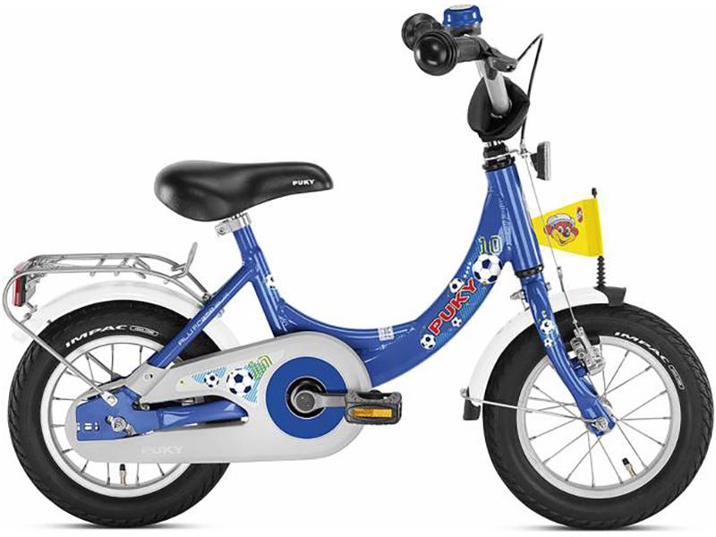 Puky Kinderfahrrad ZL 12 Alu (Fußball Blau) [Kinderspielzeug]