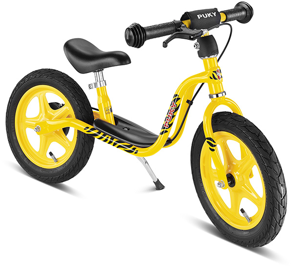 Puky Laufrad LR 1L Br (Gelb Schwarz) [Kinderspielzeug]