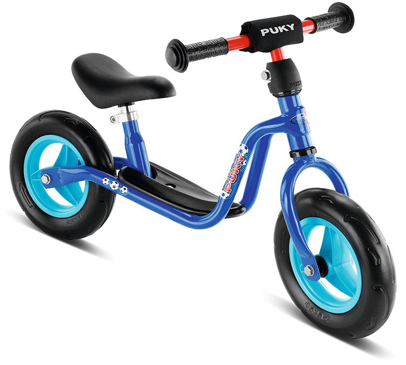 Puky Laufrad LR M Fußball (Blau) [Kinderspielzeug]