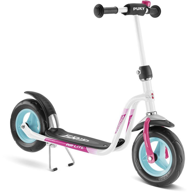 Puky Roller R 03 (Weiß Pink) [Kinderspielzeug]