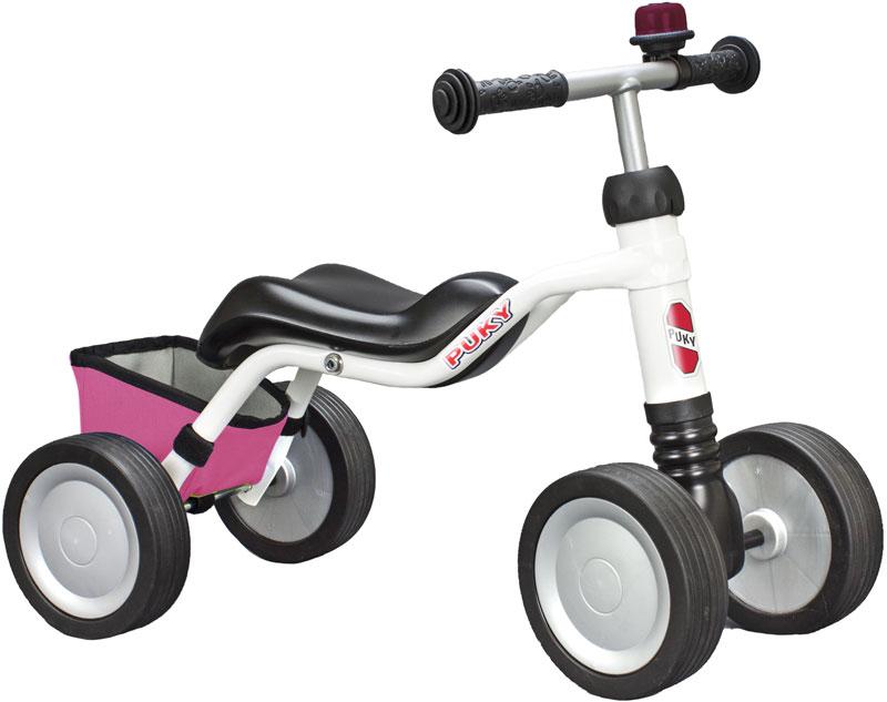 puky-sitzroller-wutsch-mit-klingel-und-tasche-wei-pink-kinderspielzeug-