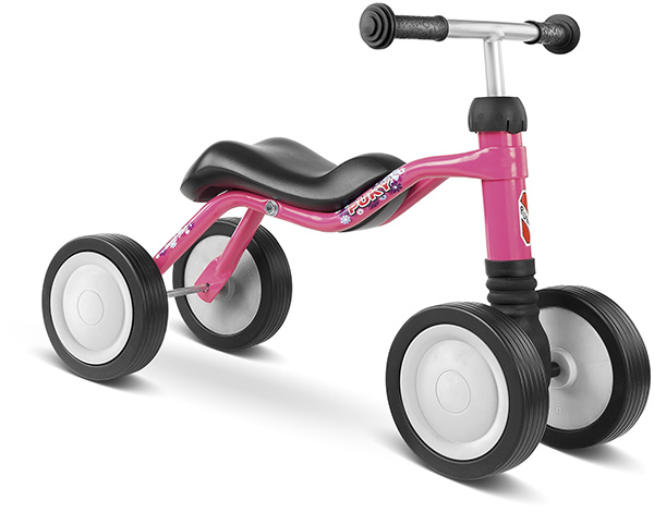 Puky Sitzroller Wutsch (Lovely Pink) [Kinderspielzeug]