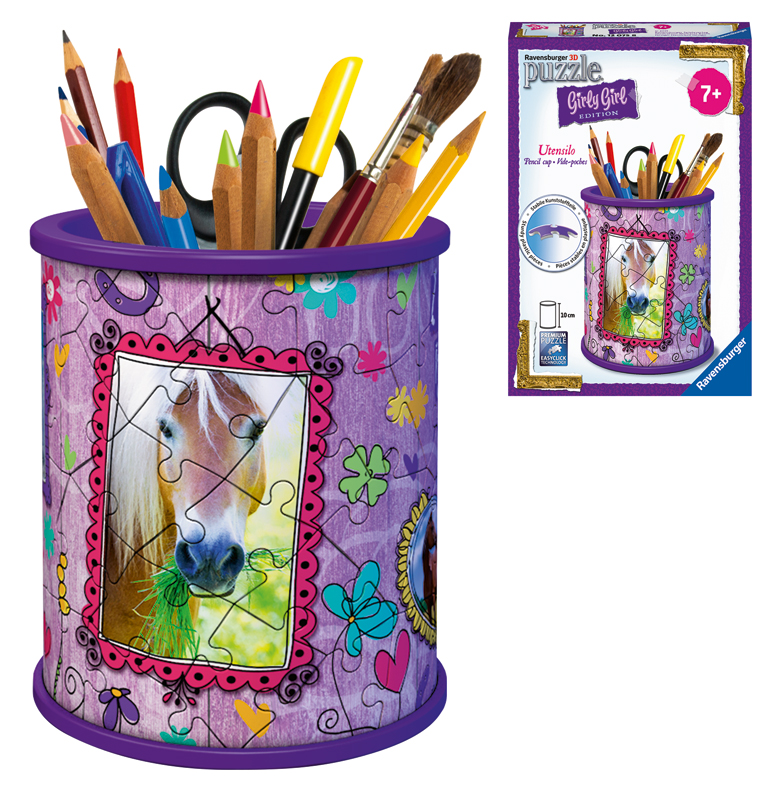 Ravensburger 3D Puzzle Girly Girl Edition Utens...