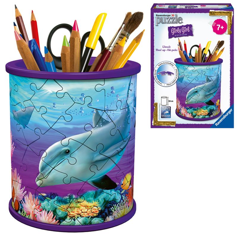 Ravensburger 3D Puzzle Utensilo Unterwasserwelt...