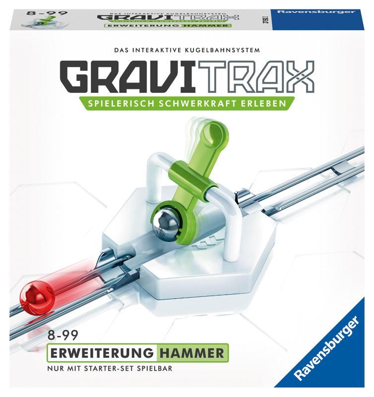 Ravensburger GraviTrax Erweiterung Hammer [Kind...