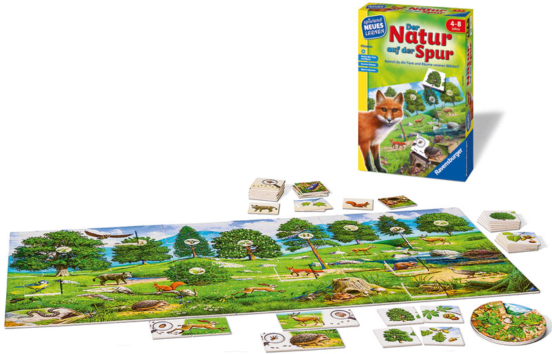 Ravensburger Kinderspiel Der Natur auf der Spur...
