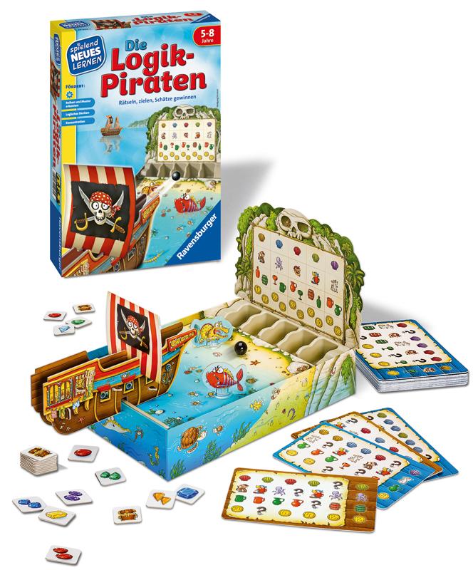 ravensburger kinderspiel die logik piraten bei spielzeug24. Black Bedroom Furniture Sets. Home Design Ideas