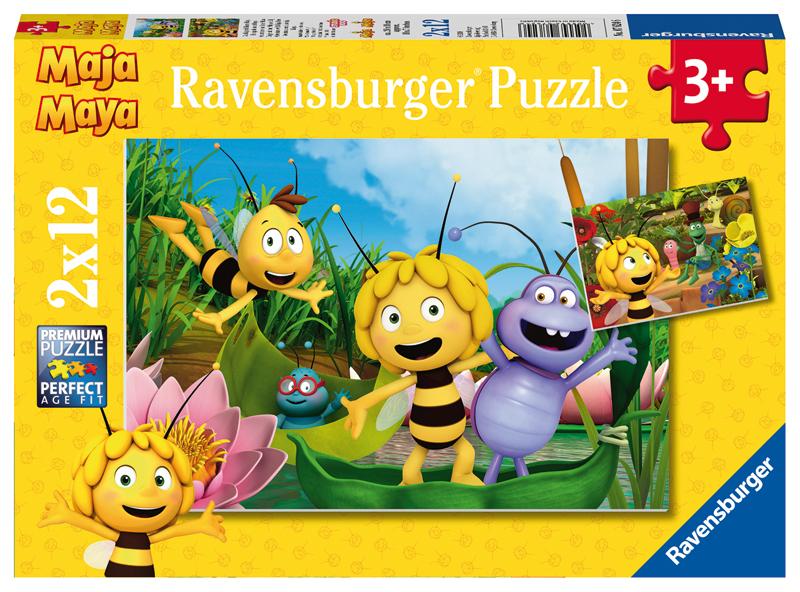 ravensburger kinderpuzzle biene maja der ausflug ab 3 jahren bei spielzeug24. Black Bedroom Furniture Sets. Home Design Ideas