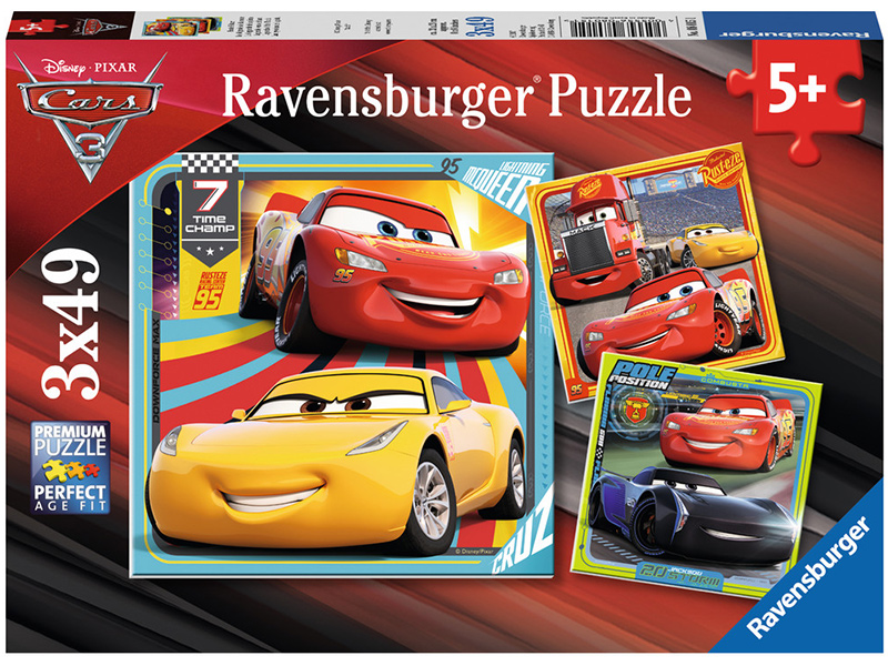 ravensburger kinderpuzzle disney cars bunte flitzer ab 5 jahren bei. Black Bedroom Furniture Sets. Home Design Ideas