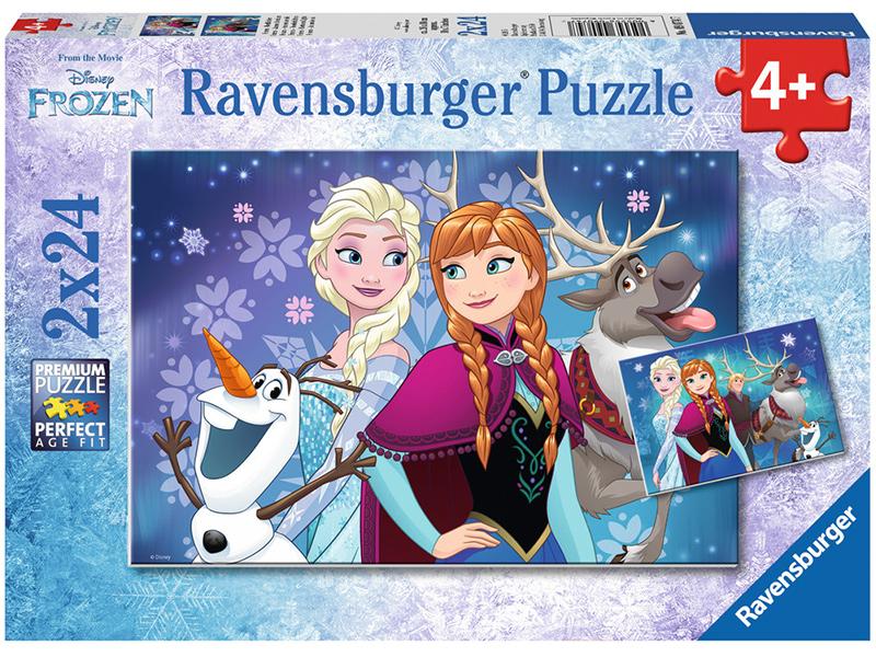 ravensburger kinderpuzzle disney frozen nordlichter ab 4 jahren bei spielzeug24. Black Bedroom Furniture Sets. Home Design Ideas