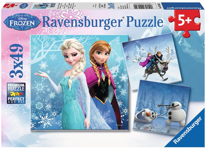 ravensburger kinderpuzzle disney frozen abenteuer im winterland ab 5 jahren bei. Black Bedroom Furniture Sets. Home Design Ideas