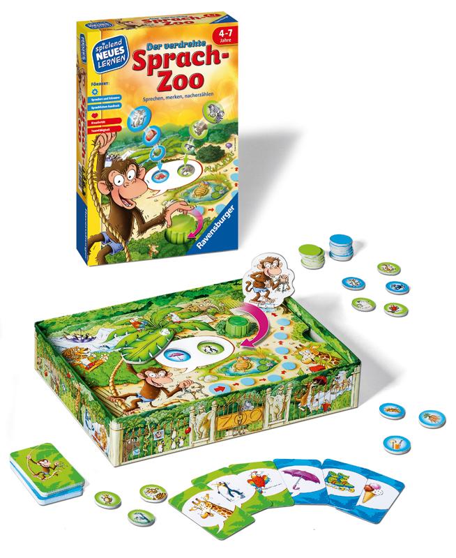 Ravensburger Kinderspiel Der verdrehte Sprach-Z...
