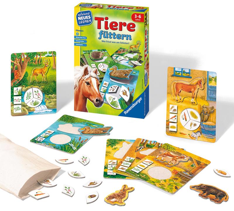 Ravensburger Kinderspiel Tiere Füttern [Kinders...