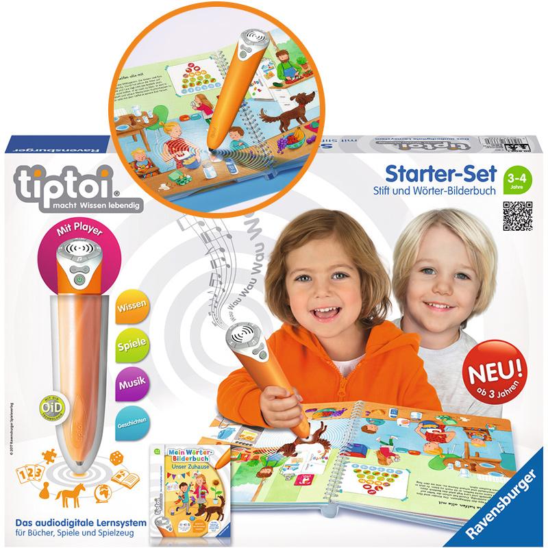 ravensburger-tiptoi-starter-set-stift-und-worter-bilderbuch-unser-zuhause-kinderspielzeug-